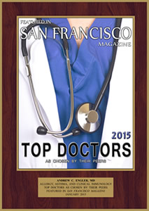 San Francisco Magazine Top Doctors 2015